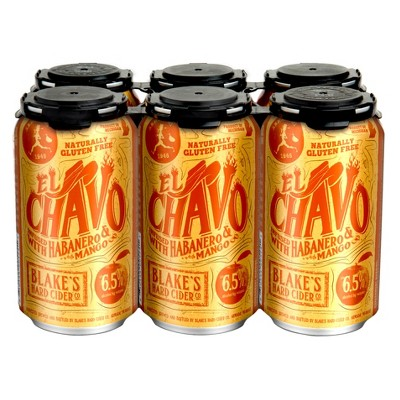 Blake's El Chavo Hard Cider - 6pk/12 fl oz Cans