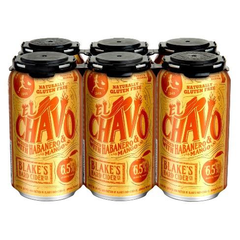 Blake's El Chavo Hard Cider - 6pk/12 fl oz Cans - image 1 of 1