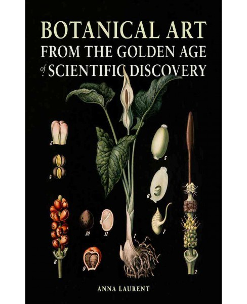 Botanical Art from the Golden Age of Scientific Discovery (Hardcover) (Anna Laurent) - image 1 of 1