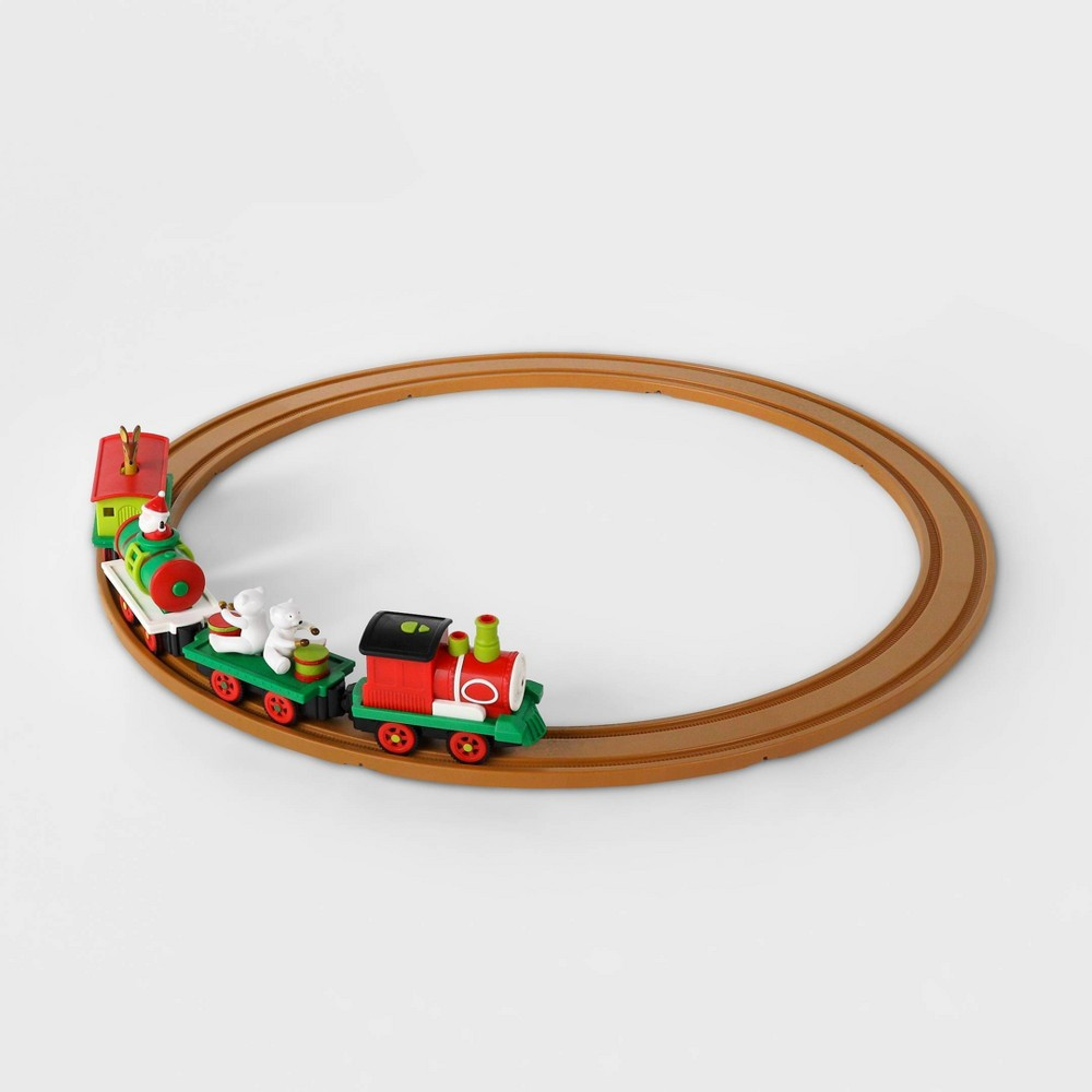 Image of All Aboard by Battat Christmas Animated Train Set