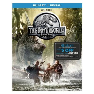 The Lost World: Jurassic Park + Atom Tickets Offer (Blu-ray + Digital)