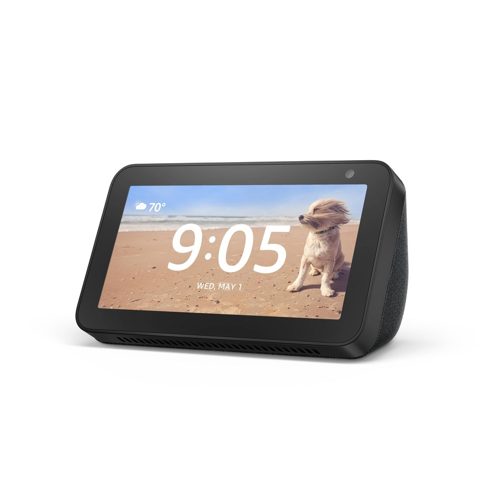 Amazon Show 5 - Charcoal, Smart Displays was $89.99 now $59.99 (33.0% off)