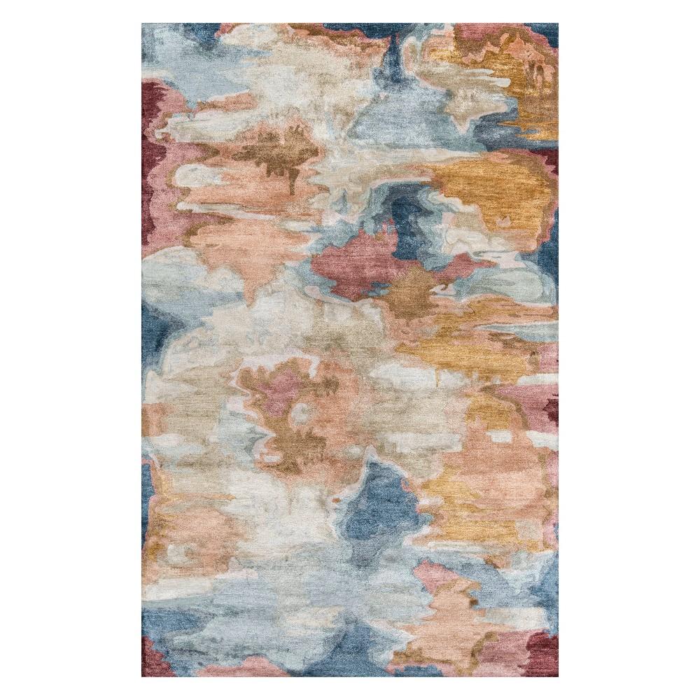 5'X8' Splatter Tufted Area Rug - Momeni, Multicolored
