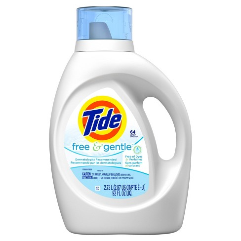 Tide Free and Gentle Liquid Laundry Detergent - image 1 of 3