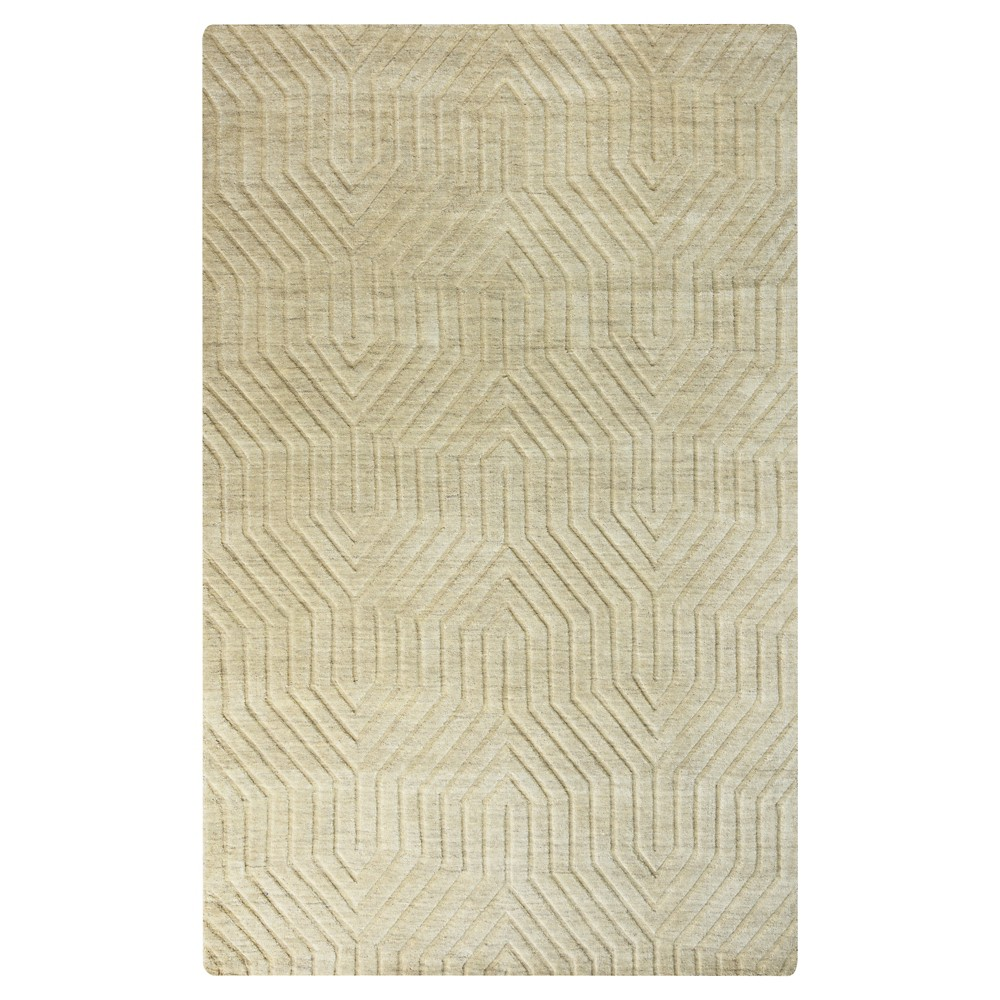 8'X10' Solid Area Rug Desert Tan - Rizzy Home