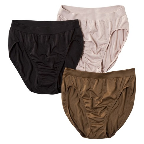 12bcaf3cf6dc3 Beauty By Bali® Women s Hi-Cut Briefs BT43AS 3-Pack (Colors May Vary ...