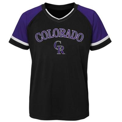 MLB Colorado Rockies Boys' Pullover Jersey