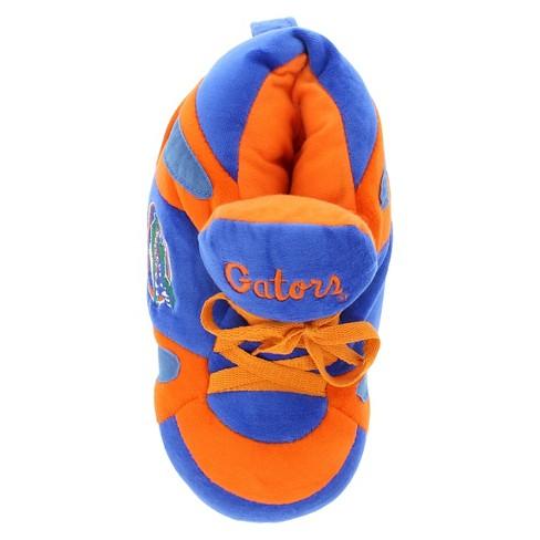 8197ca759b23c NCAA Florida Gators Adult Comfy Feet Sneaker Slippers - Orange Blue ...