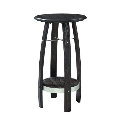 Brewer Plant Stand Rustic Dark Brown - Powell Company - image 1 of 4