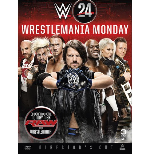Wwe:Wrestlemania Monday Is Raw (DVD) - image 1 of 1