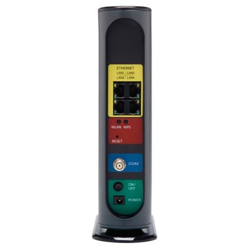 Motorola MG7540 Cable Modem - Black (MG7540)