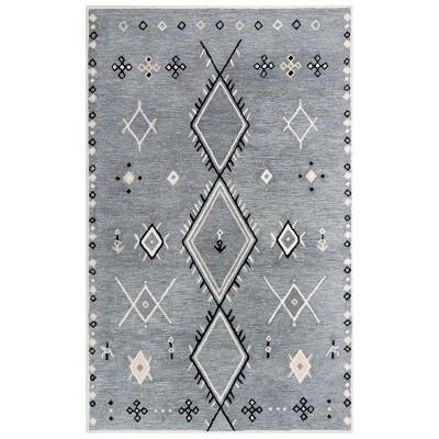 Catawba Geometric Wool Area Rug - Rizzy Home