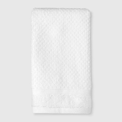 Performance Texture Hand Towel White - Threshold™