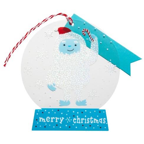 4ct Yeti Premium Gift Tag Set - Wondershop™