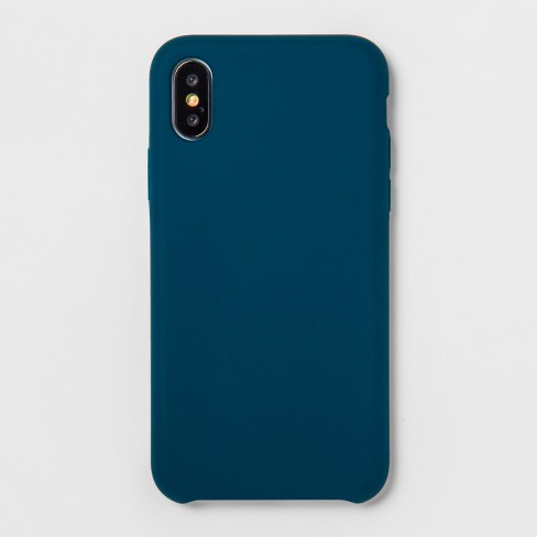 premium selection 88d3c 59317 heyday™ Apple iPhone X/XS Silicone Case - Navy Blue