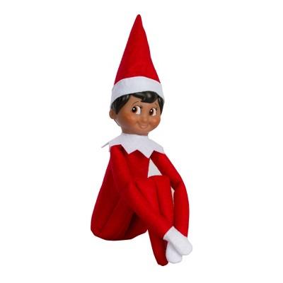 the elf on the shelf a christmas tradition with dark skin tone boy rh target com elf shelf printables elf shelf names