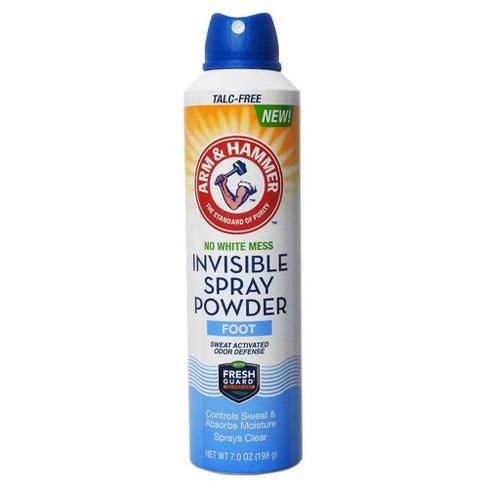 Arm & Hammer Invisible Spray Foot Powder - 7oz - image 1 of 3