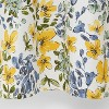 Floral Print Shower Curtain Gold Medal - Threshold™ - image 4 of 4