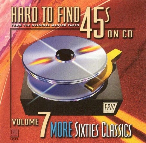 Various - Hard to find 45s on cd no.07 (CD) - image 1 of 1