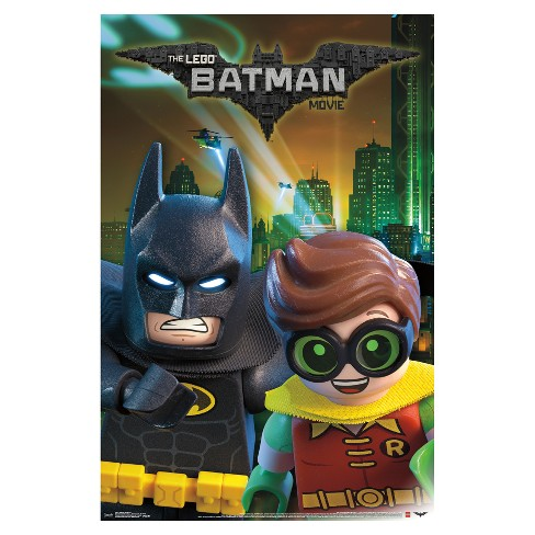 Lego Batman and Robin Poster 34x22 - Trends International - image 1 of 2