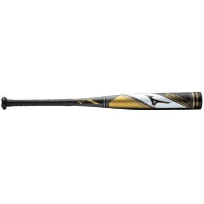 Mizuno B20-Pwr Crbn - Big Barrel Youth Usa Baseball Bat (-10) Youth - Boys Size 31 Inches In Color Black-Gold (9074)