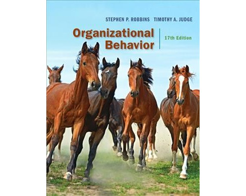 Organizational Behavior -  by Stephen P. Robbins & Timothy A. Judge (Hardcover) - image 1 of 1