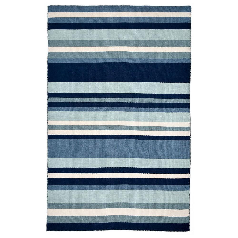 Sorrento Tribecca Water Rug - Blue - (2'X8' Runner) - Liora Manne