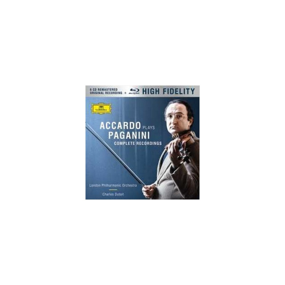 Salvatore Accardo - Accardo Plays Paganini:Complete Recor (CD) Salvatore Accardo - Accardo Plays Paganini:Complete Recor (CD)
