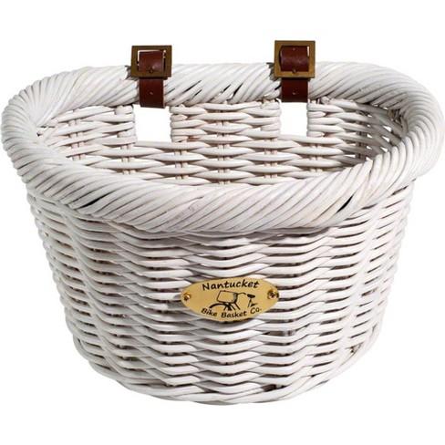 Classic Shape Natural Nantucket Lightship Front Basket