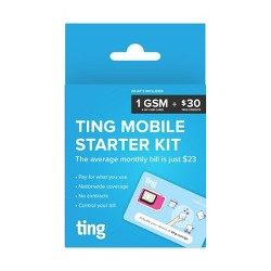 H2O Wireless 3-in-1 SIM Card Starter Kit (for GSM Unlocked