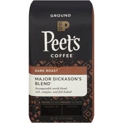 Peet's Major Dickason's Blend Dark Roast Ground Coffee - 12oz