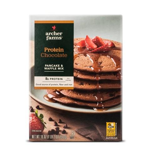 Chocolate Protein Pancake Mix - 18oz - Archer Farms™ - image 1 of 1
