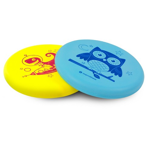 Merrithew Flying Foam Disks For Kids, 2pk (Orbitosaurus Rex and Glady Goodnight) - image 1 of 3
