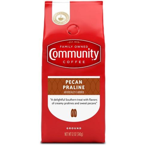 Community Coffee Pecan Praline Medium Dark Roast Ground Coffee - 12oz - image 1 of 4