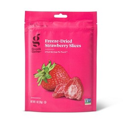 Freeze Dried Strawberry Slices - 1oz - Good & Gather™