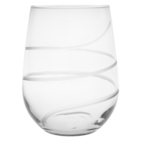 17oz 4pk Twist Stemless Wine Glasses - Rolf Glass - image 1 of 1
