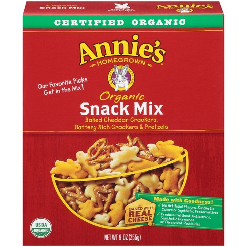 Annie's Organic Original Snack Mix - 9oz - image 1 of 3