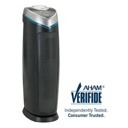"Germ Guardian 22"" TowerAC4825DLX 4-in-1 Air Purifier with HEPA Filter, UVC Sanitizer and Odor Reduction"