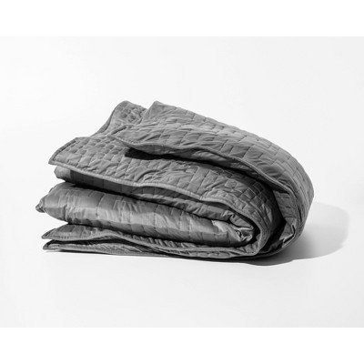 Cooling Weighted Blanket Duvet Cover Gray - Gravity