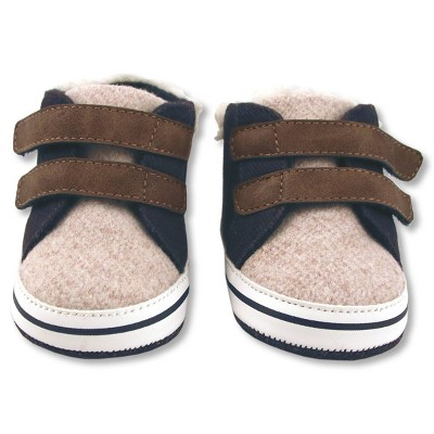 Baby Boys' High Top Sneakers - Cat & Jack™ Navy 0-3M