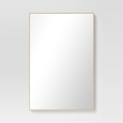 "24"" x 36"" Narrow Border Recycled PS Wall Mirror - Project 62™"