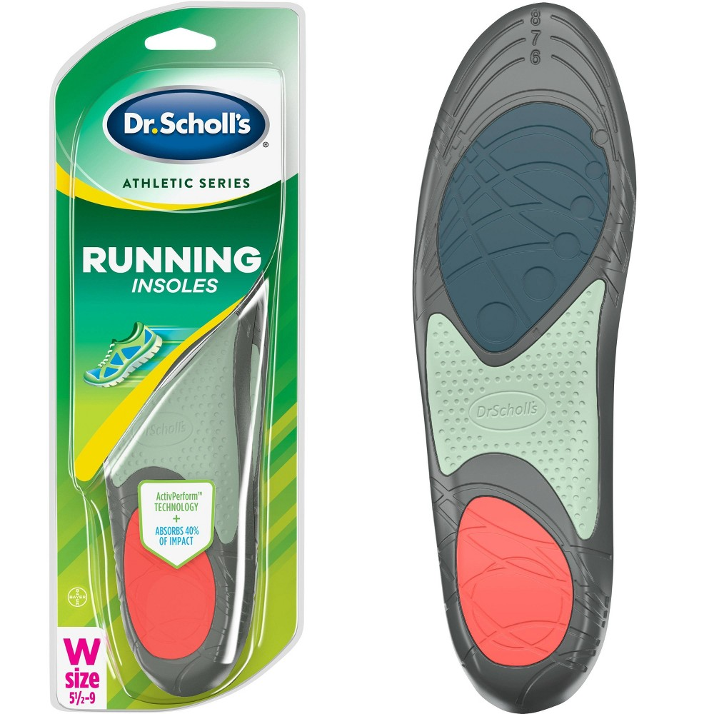 Dr Scholl S Athletic Series Running Insoles For Women Size 5 5 9