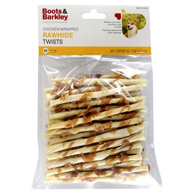 Chicken Wrapped Rawhide Twists - Boots & Barkley™