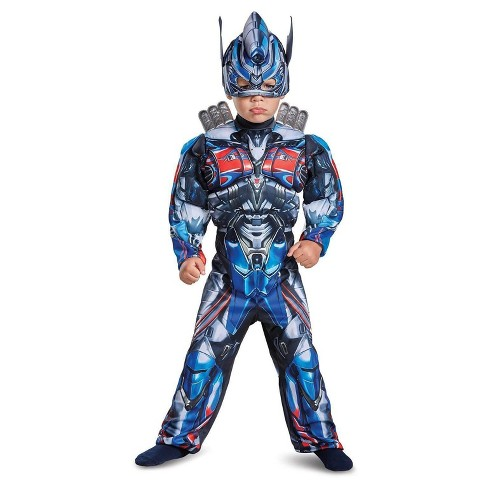 Boys' Transformers Optimus Prime Toddler Muscle Costume Small (2T) - image 1 of 1