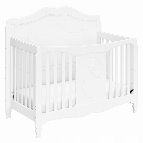 Storkcraft Princess 4-in-1 Fixed Side Convertible Crib - White - image 1 of 4