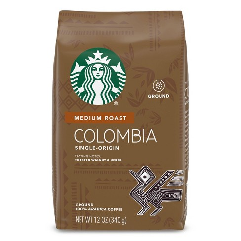 Starbucks Colombia Medium Roast Ground Coffee - 12oz - image 1 of 4