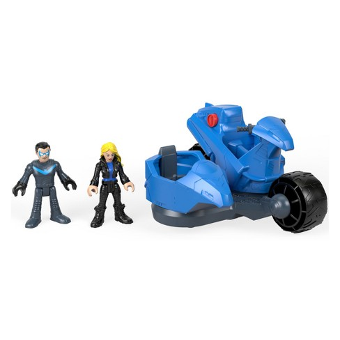 Fisher-Price Imaginext DC Super Friends Nightwing & Transforming Cycle - image 1 of 7