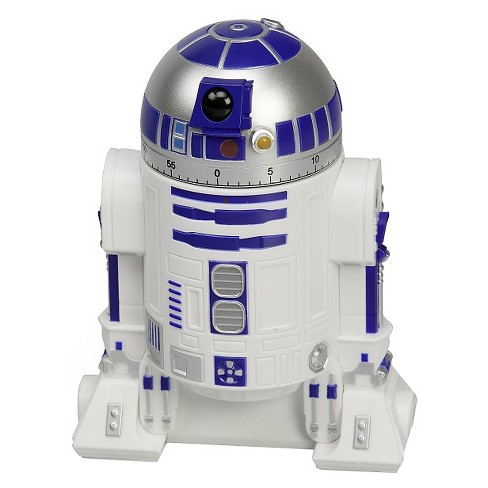 Star Wars Round 1 Piece R2-D2 Kitchen Timer - White - image 1 of 1