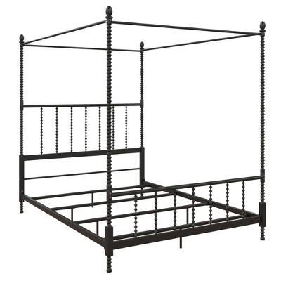 Emilia Metal Canopy Bed - Room & Joy