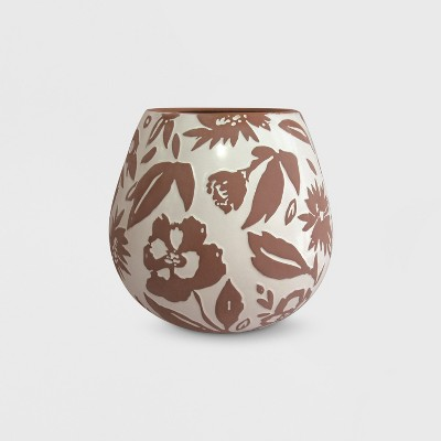 13  Textured Pattern Planter Terracotta - Opalhouse™